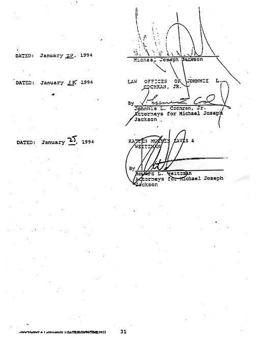 31 1993 settlement
