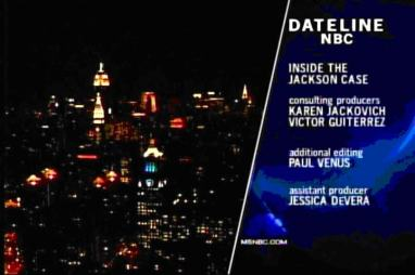 Dateline NBC program. Victor Gutierrez is a consultant. [September 3, 2004]