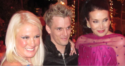 daphne barak and aaron carter at a recent charity event in marbella1 Cool or Not: Nude Yoga & Tai Chi DVD