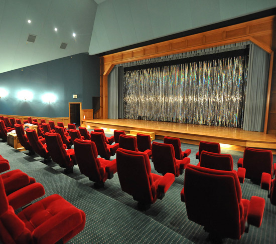 inside the Movie Theatre