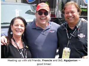 Entrevista a JC Agajanian, amigo de Michael (su hija estuvo con Mike en el Superbowl) Jc-agajanian-and-francie-with-joe-benson
