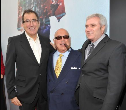 Kenny Ortega, Frank Dileo, Randy Phillips at the Premiere of This is it