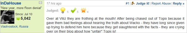 The Topix Forum Freedom Of Speech And Vindication Of Michael Jackson Vindicating Michael