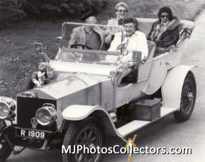 Liberace, Scott Thorson, Lord Montagu, MJ at Beaulieu museum in 1981