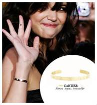 Celebrities and their Cartier Love bracelets