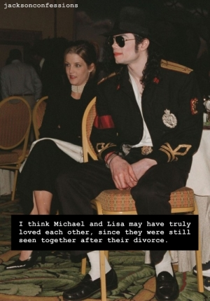 MJ and LMP after their divorce