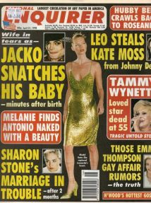 Meet the National Enquirer (the April 21st, 1998 issue)