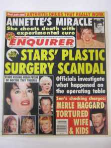 Meet the National Enquirer (the November 11, 1997 issue)