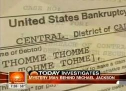 Tohme's bankruptcy documents obtained by NBC