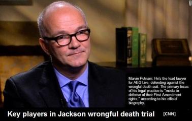 AEG's lawyer, Marvin Put