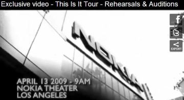 This is it documentary says that auditions were on April 13th (and not in May)