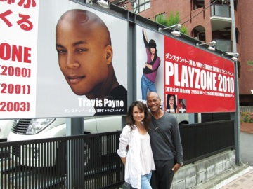 Travis Payne and Stacey Walker