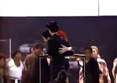 Safe and sound again. Earth song, Korea