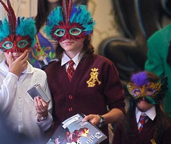 The masks worn in public