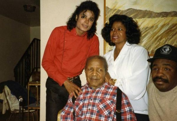 "Michael, Katherine and Katherine's father Prince.   Q ""IS PRINCE A FAMILY NAME IN YOUR FAMILY, MRS. JACKSON?"" A.  ""THAT NAME GOES ALL THE WAY BACK TO SLAVERY. HIS FATHER, HIS GRANDFATHER, HIS GREAT GRANDFATHER, HIS GREAT GREAT GRANDFATHER WERE ALL NAMED PRINCE""."