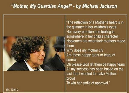 Mother, My Guardian Angel, by Michael Jackson