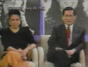 Quindoys on Geraldo show in 1992