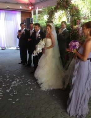 Taj Jackson's wedding