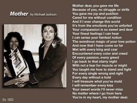 MOTHER by Michael Jackson