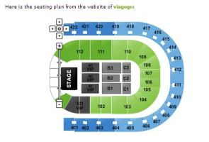 Viagogo seating plan for MJ's concerts. It includes section C2 of premium tickets which are not even offered by Ticketmaster