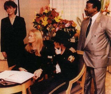 November 1996, the wedding