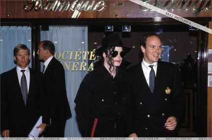 MJ in Monaco, May 1993