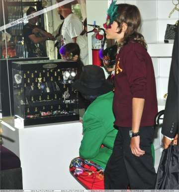 April 27, 2009 at Ed Hardy shop