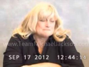 Debbie Rowe's deposition Sept.17, 2012 cries