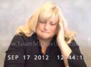 Debbie Rowe's deposition Sept.17, 2012 cries3