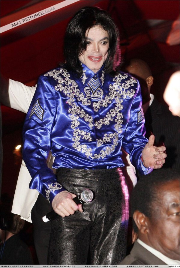 May 22, 2008 Michael is still perfectly fine. But soon after that Tohme and Barrack will say that MJ's situation is desperate and he needs to work (with AEG Live)