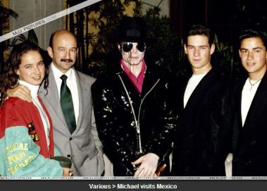 Michael in Mexico Nov. 1993