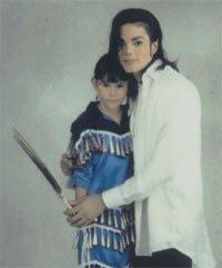Making Black or White. Michael Jackson with Sage