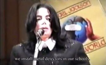 Instead of loving our children more (beginning to cry) we install metal detectors in our schools