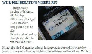 """we're deliberating where ru?"" http://jurylaw.typepad.com/deliberations/2007/07/scrushy.html"