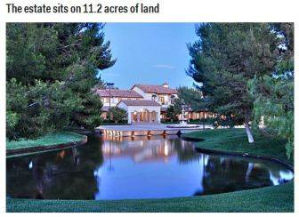 The property Michael wanted to buy was put on sale in 2010 for $37,5 mln