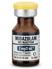 Midazolam 1mg= 1ml