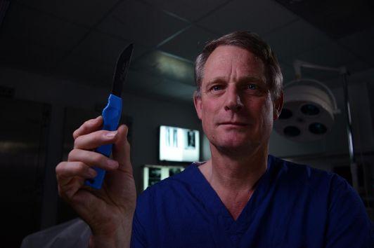 Dr. Richard Shepherd. Photo: Channel 5