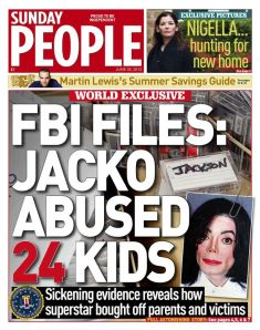 Sunday People Front Page, June 30, 2013