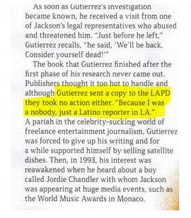 Victor Gutierrez about LAPD: