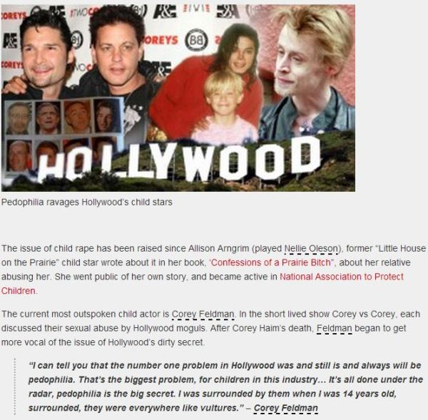 The shameful media manipulation with MJ's image and Corey Feldman's words