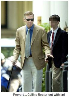 In 2007 Marc Collins-Rector was seen in London in the company of a young lad