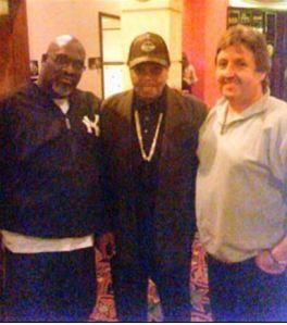 Terry Harvey with Joe Jackson