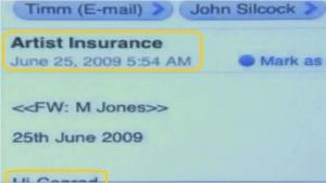 "June 25th, 5:54am Re: Artist Insurance ""Hi Conrad..."""
