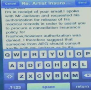 Murray's message on June 25th, 11:17am  I spoke with Mr. Jackson, however, authorization was denied.