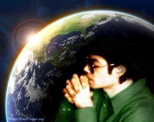 Heal the world. Michael Jackson Major Love Prayer heal the world every 25th