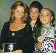 Joy, Chantal and Wade Robson present Wade's first album QUO