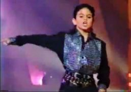 Wade Robson on Star Search in 1990