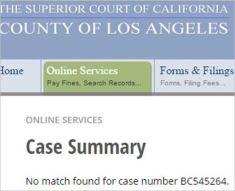 The court filings say that Safechuck's civil suit DOES NOT EXIST