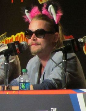 Macaulay attends Adult Swim and Oldboy NYCC panels, New York 2013