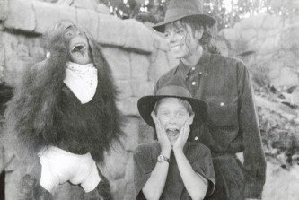 Macaulay Culkin, MJ and Bubbles